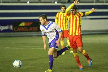 El Barça B no va poder amb Nils i companyia // FOTO: @CEEuropa