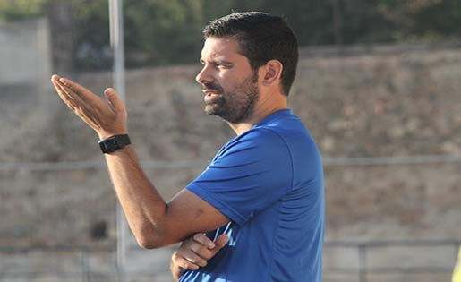 Miguel Ángel Samprón  va disputar 90 minuts oficials amb la UE Sant Andreu i es va anar per motius personals, / FOTO: EDUARDO BERZOSA