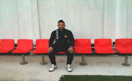Dani Vidal, 2016: el reusenc ha estat molts anys en el futbol base del Nàstic // FOTO: C.arola Ugrinovic