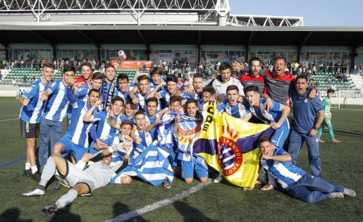 L'Espanyol va ser el campió al grup 3 la temporada passada // FOTO: rcdespanyol.com