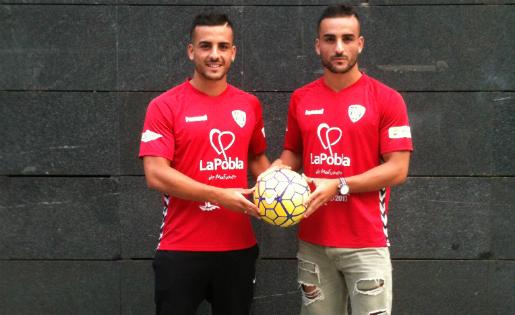 Gabri, a l'esquerra i Ivan, a la dreta: els bessons Vidal tornen a donar guerra // FOTO: C. U.