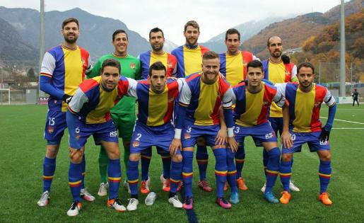 L'Andorra té un gran repte en vuit dies... i lluny del seu camp // FOTO: FC Andorra