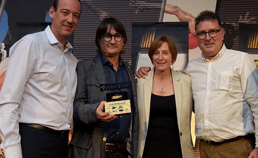 Joan Rion, màxim dirigent de l'entidad de La Verneda // FOTO: CE Júpiter