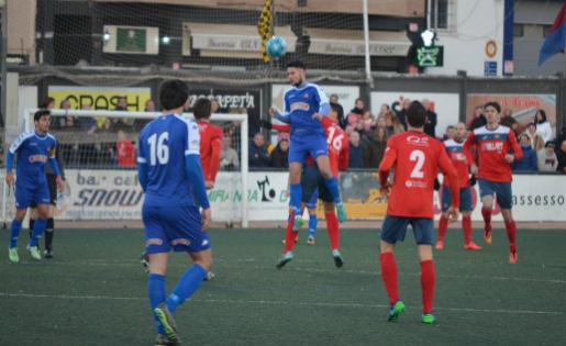El Balaguer va salvar un punt davant un Reus B que es va avançar 0-2 // FOTO @reusbcambrils