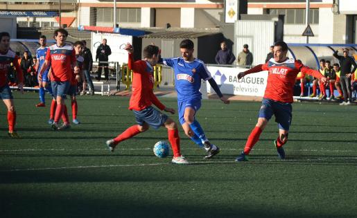El Balaguer es va recuperar de l'empat contra el Reus B i es va desfer de l'Igualada // FOTO: @ReusBCambrils