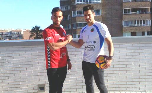 L'amistat entre Iván Vidal i Sergio López és indestructible, però al camp els toca ser rivals // FOTO: C.U.