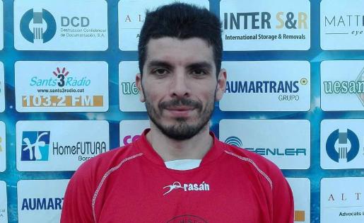 L'entrenador del Sants, Tito Lossio, és optimista de cara al partit de tornada // FOTO: uesants.cat