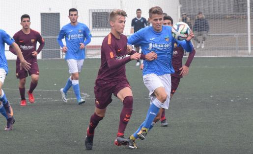 El Barça va treure un bon resultat del camp del Lleida Esportiu // FOTO: Lleida Esportiu