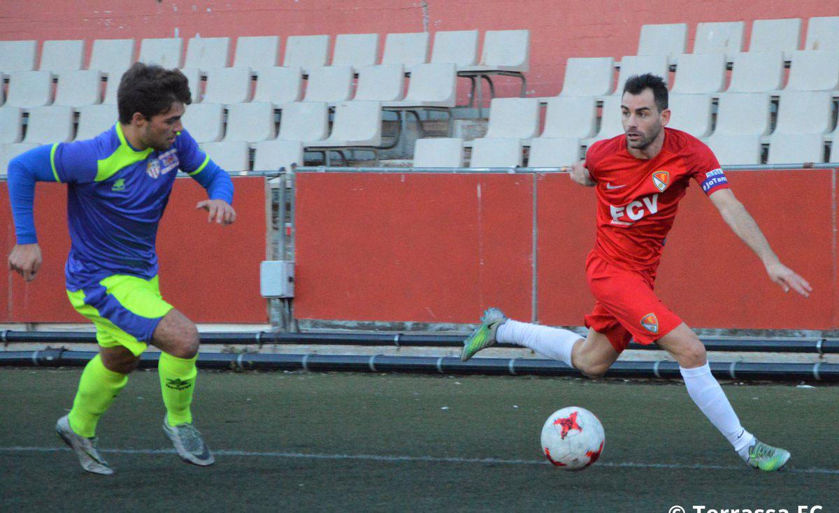 El Terrassa no podia passar de l'empat davant del VIlasar de Mar // FOTO: Terrassa FC