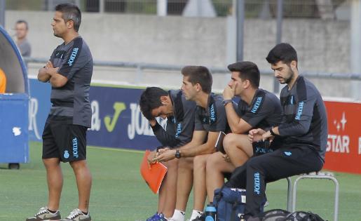 L'Espanyol B de Xavi Moron va treure un punt del camp del Nàstic B // FOTO: Arxiu RCD Espanyol