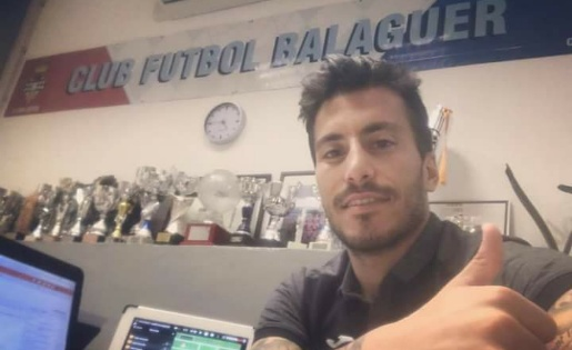 """El FC Balaguer sempre ha estat i serà la casa del """"7"""" //FOTO: Instagram Genís Soldevila"""