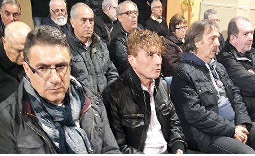 El president Gori, al capdavant del Sant Gabriel i al centre de la imatge // FOTO: Eduardo Berzosa