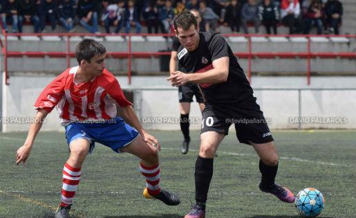 7 gols en el duel d'aquest matí en el Cardedeu - Vic // FOTO: David Pallarols