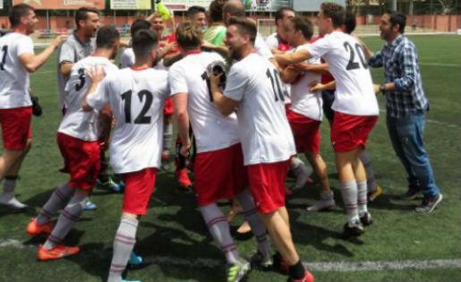 El Sant Cugat continuarà una temporada més a Primera Catalana // FOTO: Esport en Marxa