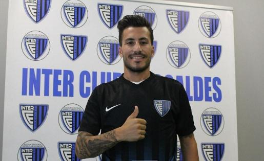 Dia de la presentació d'en Genís com a nou jugador de l'Inter // FOTO: interescaldes.com