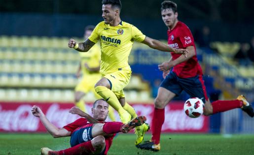 L'Olot va donar la campanada al Mini Estadi del Villarreal // FOTO: Villarreal CF