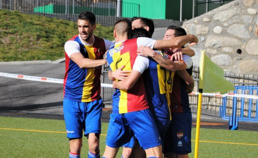 L'Andorra torna a Tercera 17 anys després // FOTO: @FCA_oficial