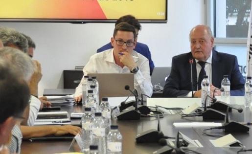 Oriol Camacho és el secretari general de la Federació Catalana // FOTO: FCF