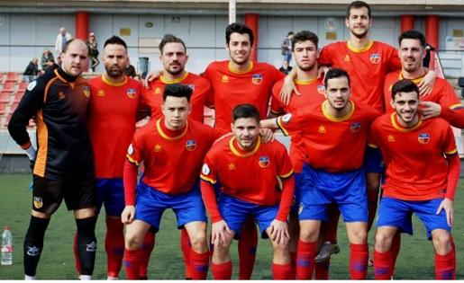 Martinenc, Primera Catalana, 'diables vermells'