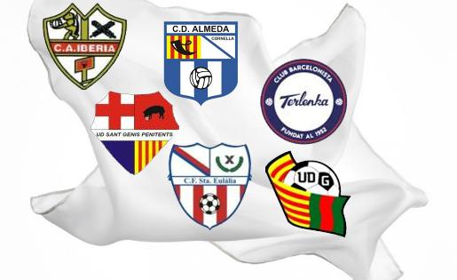 La Lliga es juga a dos punts de diferència a Tercera Catalana 10