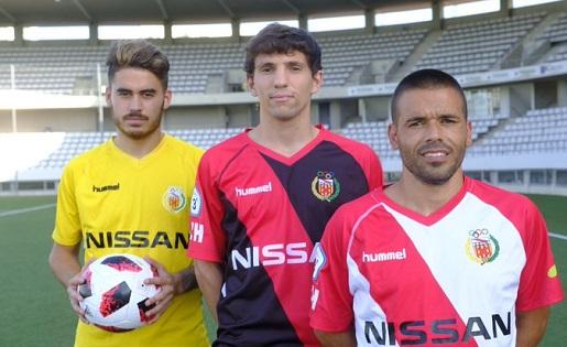 CE L'Hospitalet, Martí, Adrià i Felipe Sanchón