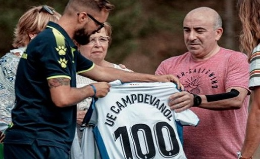 RCD Espanyol, Campdevànol, Centenari