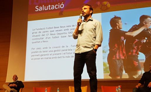 Xavi Castro, President de la Fundació Futbol Base Reus // FOTO: Joan Alfons López