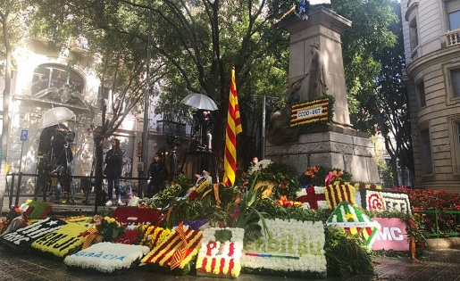 Rafael Casanova, Diada Nacional, Catalunya, clubs catalans