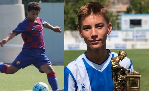 Wesley (Barça)-Pol Marcé (Espanyol),