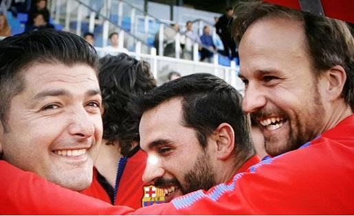 Franc Artiga, Víctor Valdés, Juvenils, FCB