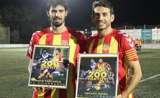 David Fontanils i Gerard Boira, Vilafranca, Tercera