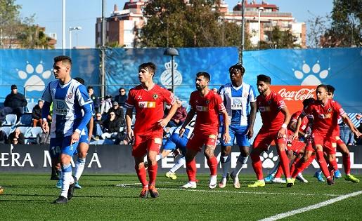 Espanyol B, Hércules, Segona B