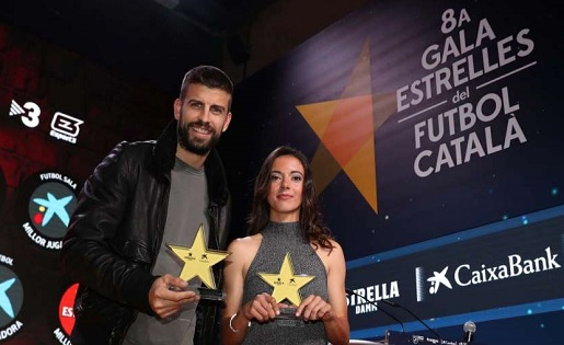 Gerard Piqué, Aitanna Bonmatí, FCF, Gala, Estrelles