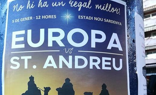 Europa, Sant Andreu , Cartell