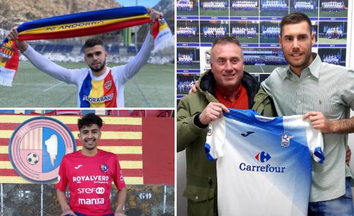 Andrés García, Moha Chabboura i Melgrati, algunes de les cares noves a Segona B