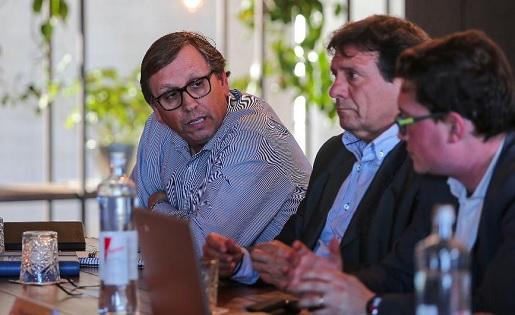 Josep Vives, Juanjo Isern i Oriol Camacho // FOTO: FCF