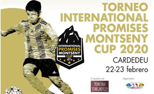Un detall del cartell de la International Promises Montseny Cup 2020