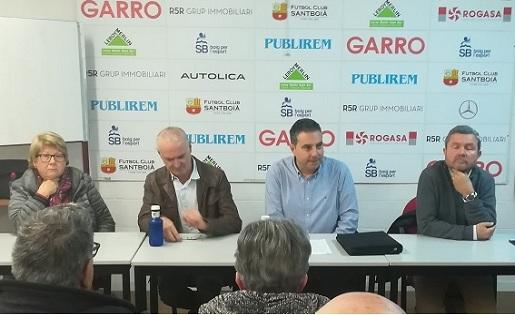 Assemblea , Santboià, Ramon Andreu, Hisenda