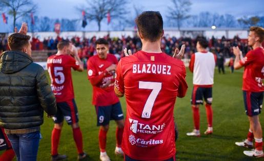 Blázquez és un dels 10 renovats fins dijous 4 de juny // FOTO: Nuri Marguí