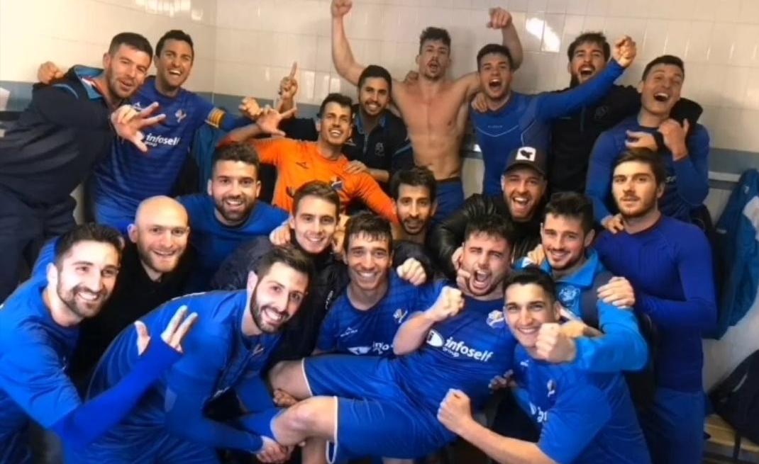 El Bescanó ha fet història amb el seu ascoens a Primera Catalana // FOTO: @cebescano