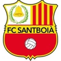 Escut - FC Santboia