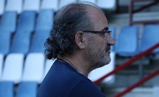 El president del CF Igualada, Francesc Jorba, ofereix el seu punt de vista sobre la sortida de l'equip de David López