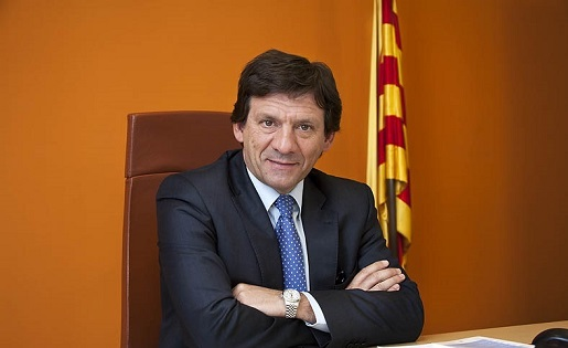 L'exvicepresident Juanjo Isern va tornar a mostrar la seva discrepància amb la gestió de Joan Soteras // FOTO: futbolcatalunya