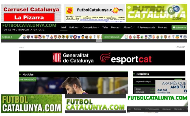 L'evolució de FutbolCatalunya als darrers 19 anys