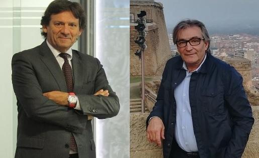 """Juanjo Isern i Jordi Terés, els dos exvicepresidents, ara vocals  """"per no ser fidels"""" // FOTOS: FC"""