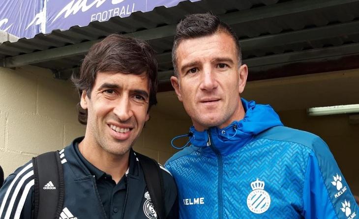 José Miguel Morales sempre s'ha envoltat dels millors futbolistes. Raúl és un exemple més