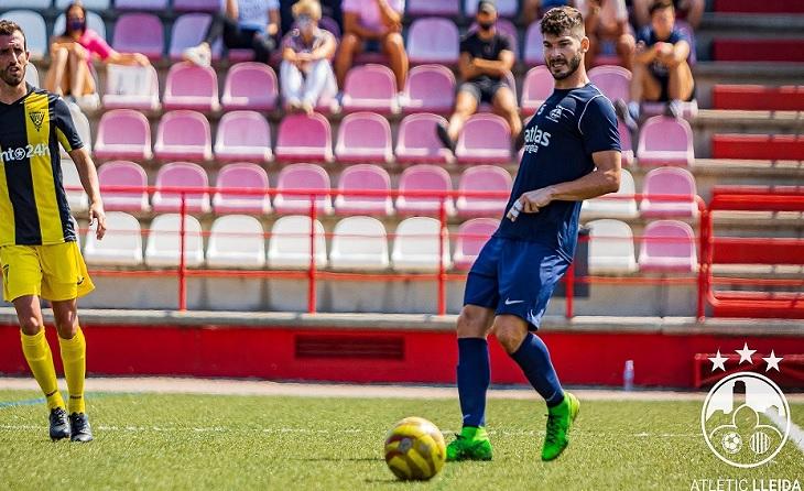 El capità Pau Bosch no s'amaga i assumeix la responsabilitat de tot l'equip // FOTO: At. Lleida