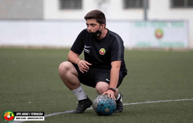 Alex López arriba a la Divisió d'Honor Juvenil amb la finalitat de mantenir a l'equip // FOTO: Jàbac i Terrassa