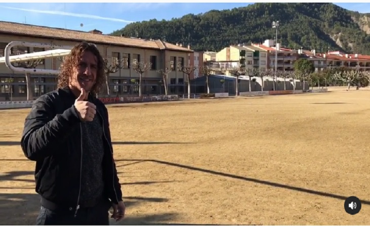Carles Puyol, La Pobla