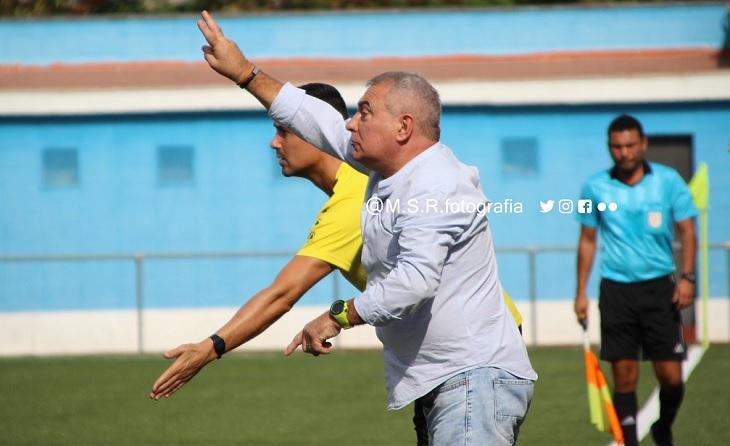 Dani Andreu, ja ex tècnic de la Montañesa, posa fi a gairebé dos anys com a entrenador a Nou Barris // FOTO: marcsr_foto
